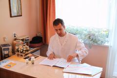 Maciej Czarny dobiera dietę na podstawie wyników