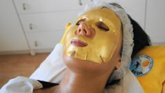 Złota maska - zabieg głęboko nawilżający skórę - fot. 2